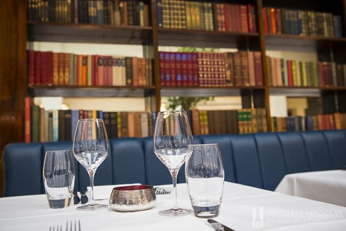 Table in Cinnamon Club