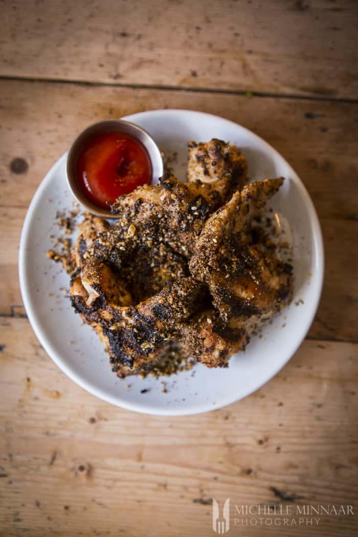 Chicken snack