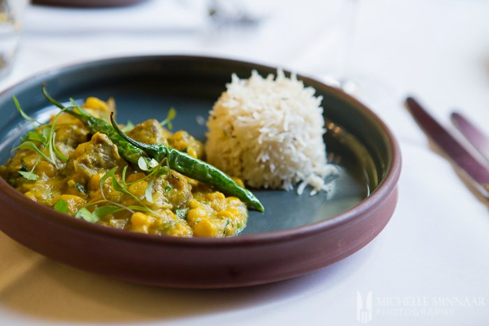 Lamb and Sweetcorn Curry