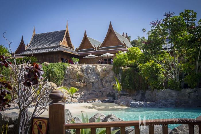 Thai-style buildings