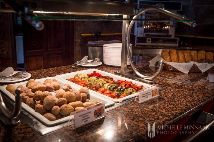 Roast Vegetables Buffet