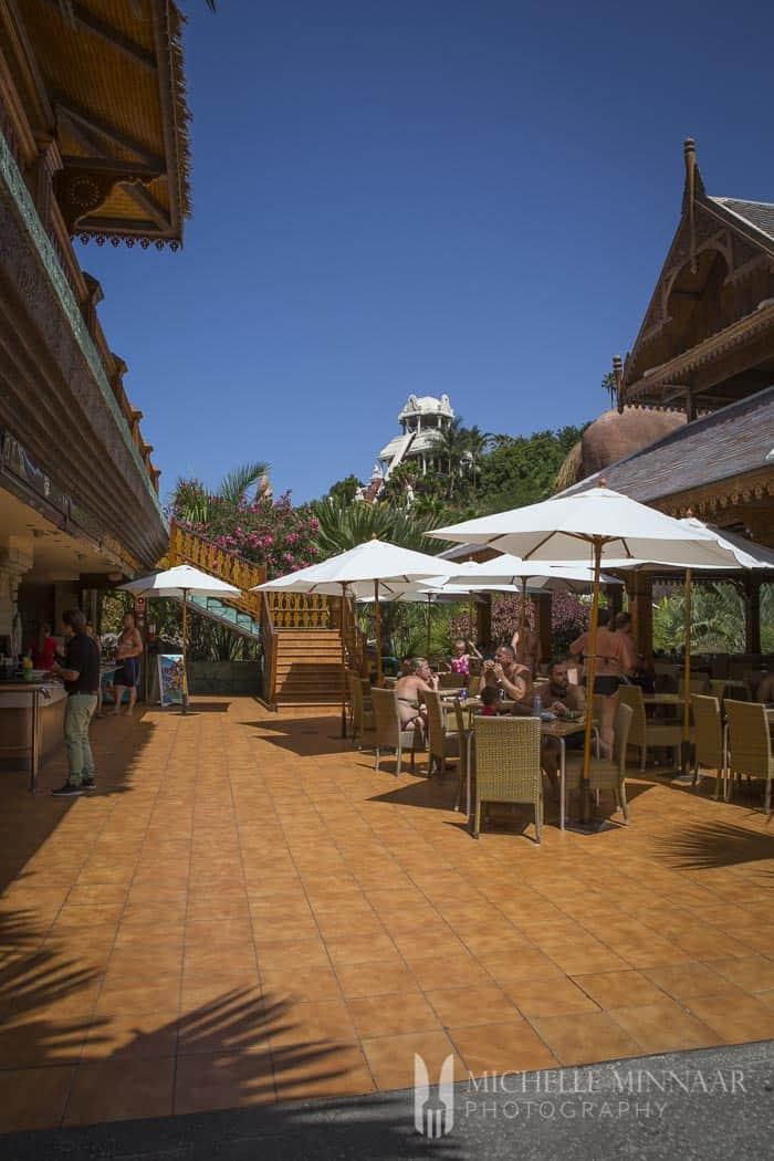 Siam Park Dining Area