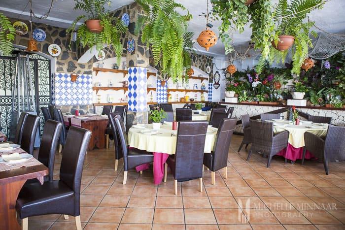 Inside Spanish Restaurant