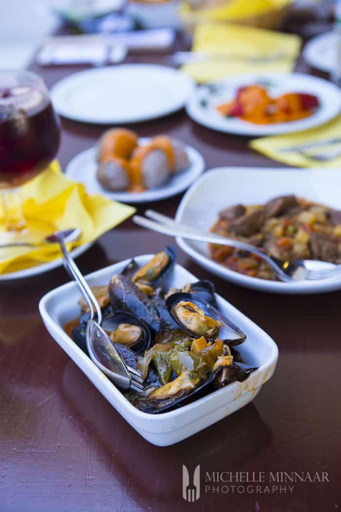 Mussels Tapas