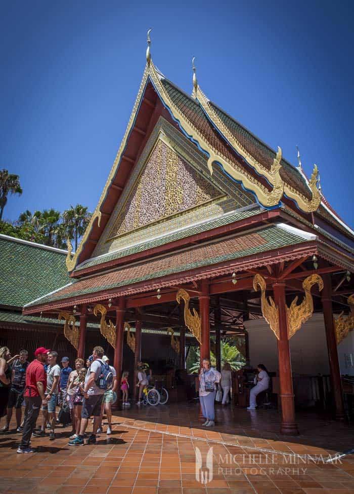 Thai Entrance at Loro Parque