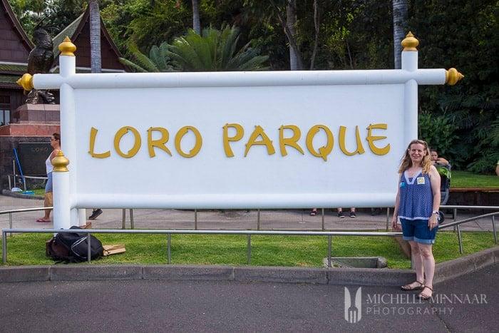 Greedy Gourmet visits Loro Parque