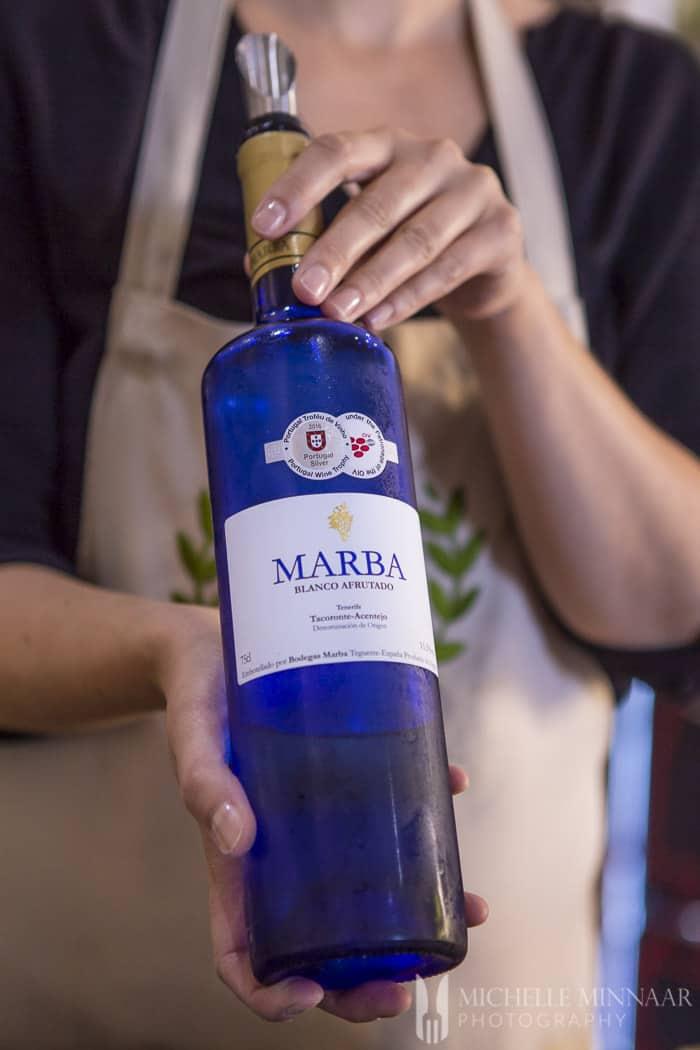 Spanish fruity wine