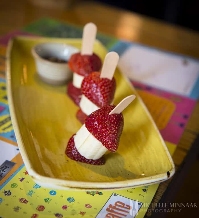 Healthier kids dessert