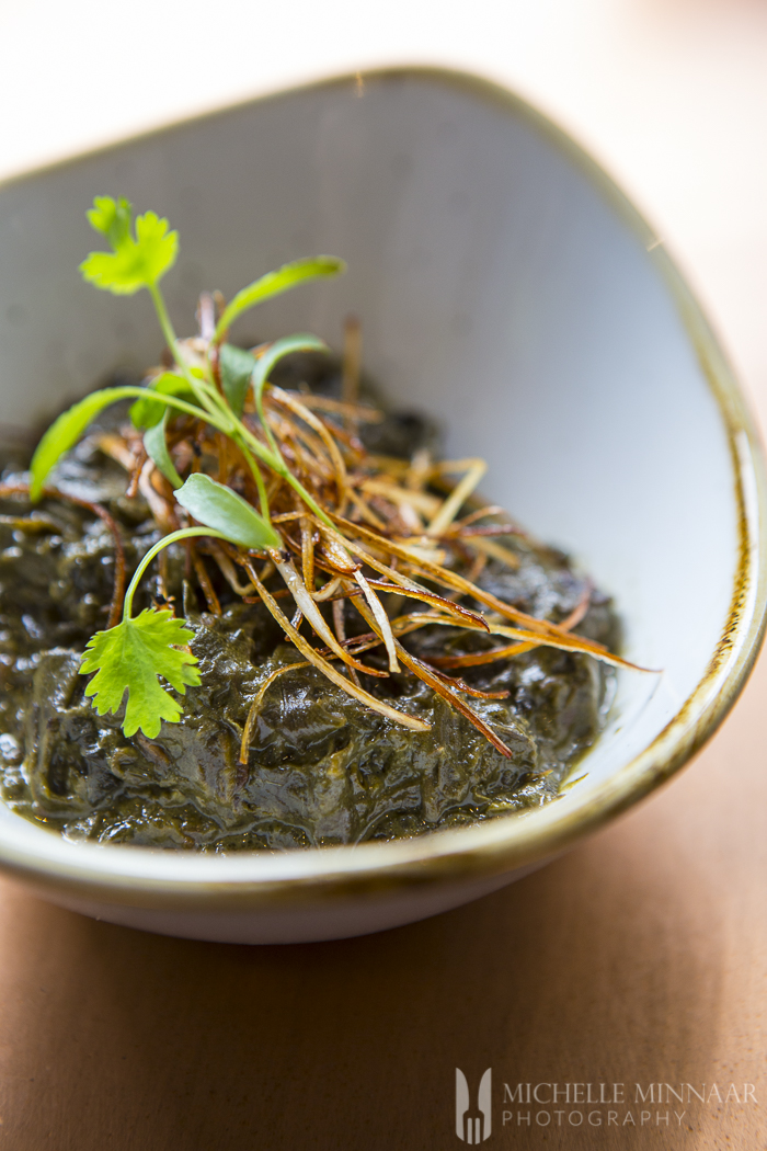 Taro Leaf and Coconut Stew