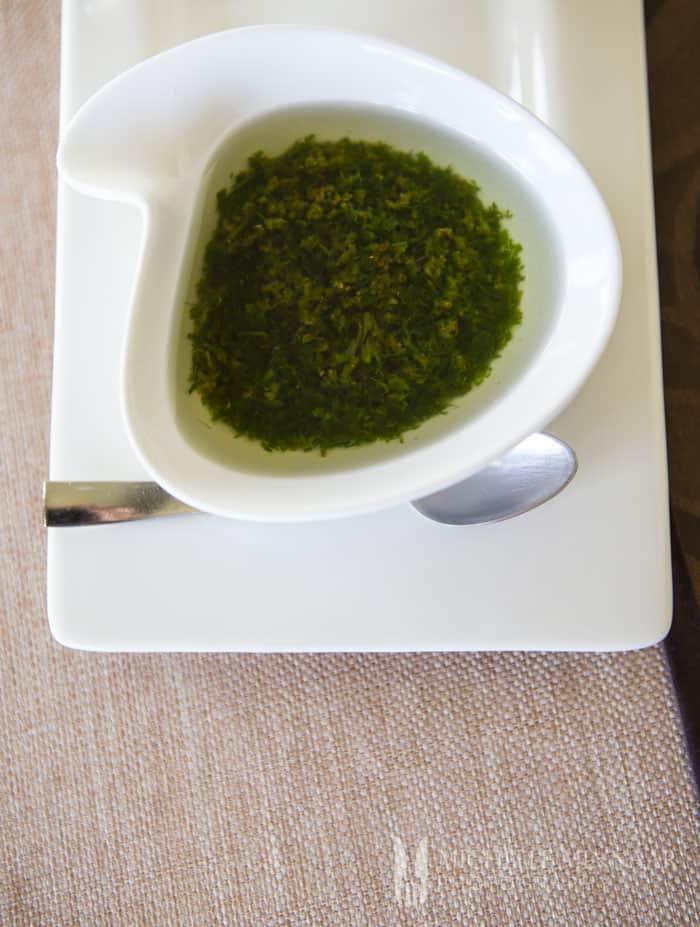 Canarian Green Sauce