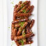 Honey Sausages Hoisin
