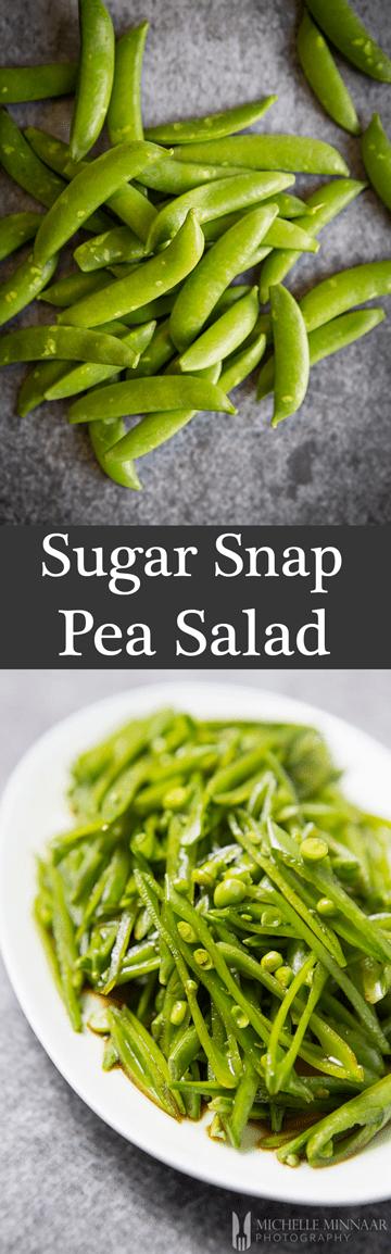 Pin for Sugar Snap Pea Salad