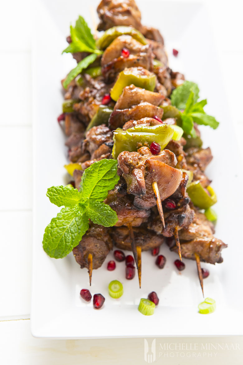Kebabs with Chicken