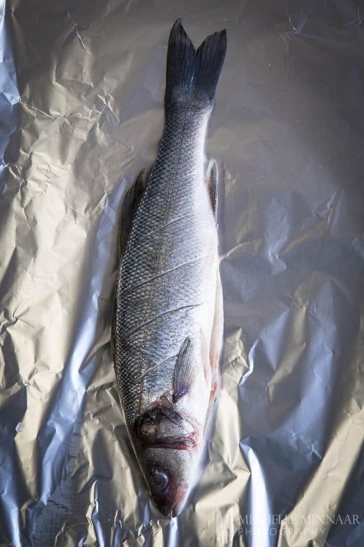 Sea Bass on Foil