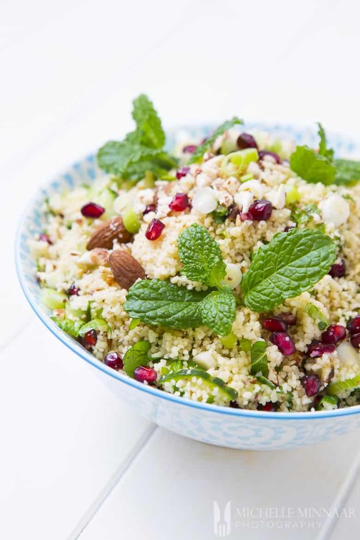 Couscous Salad of Pomegranate