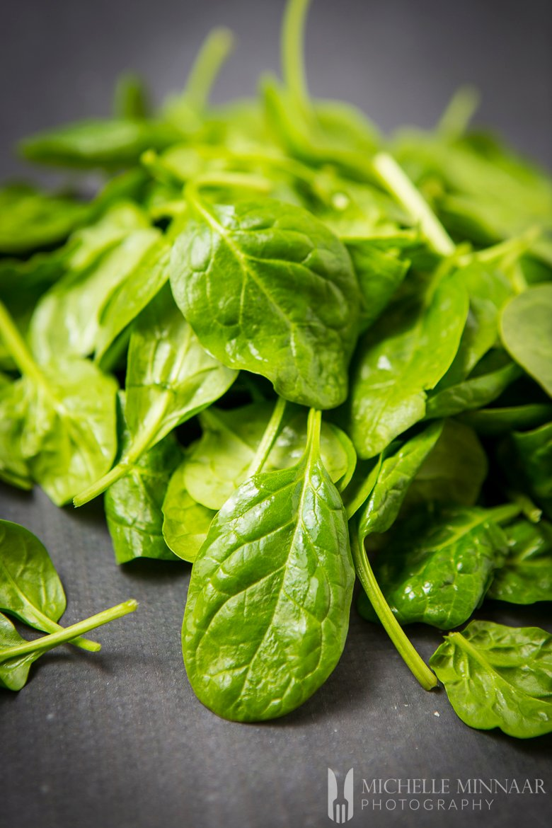 Spinach Leaves Raw
