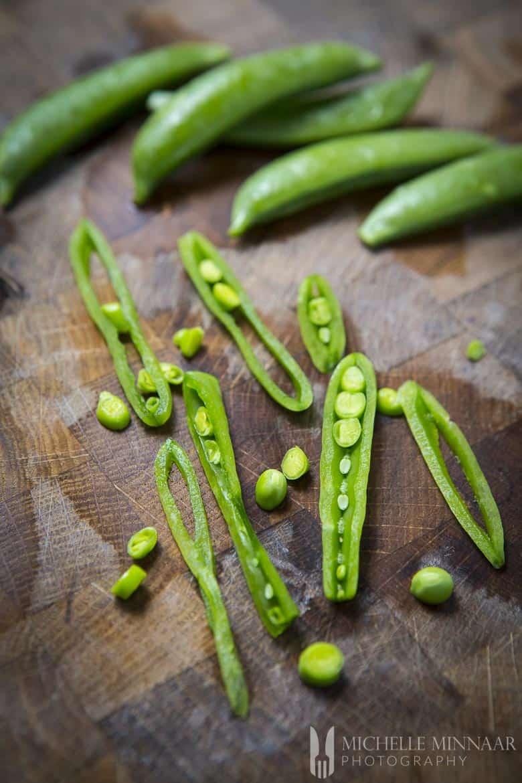 Whole Peas Sliced