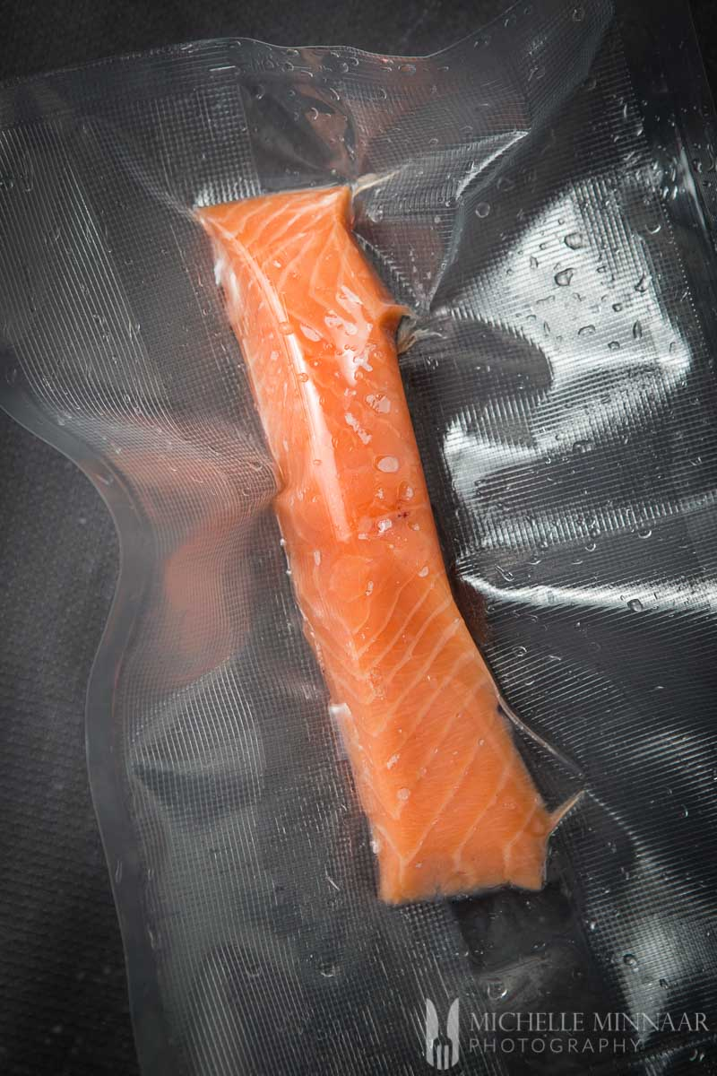 Salmon Fllet Vacuum Sealed