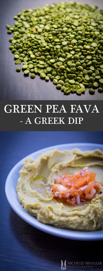 Green Pea A Greek Dip
