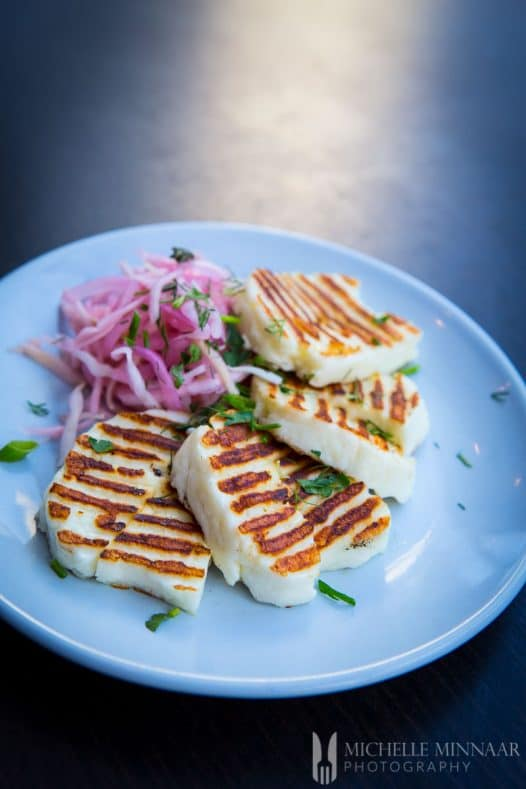 Halloumi Grilled