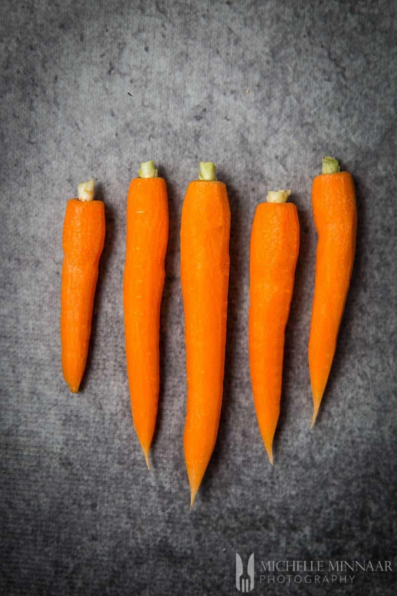 Whole Carrots Peeled