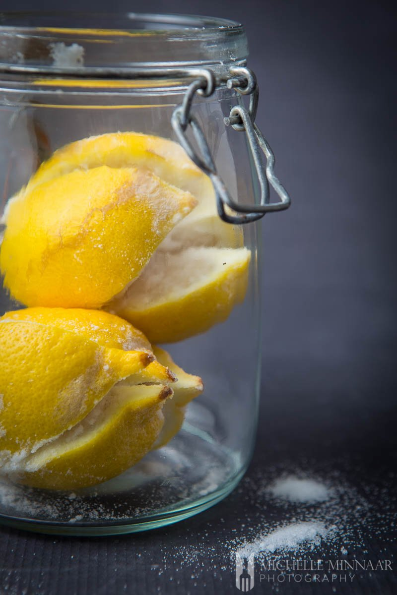 Lemon Preserved