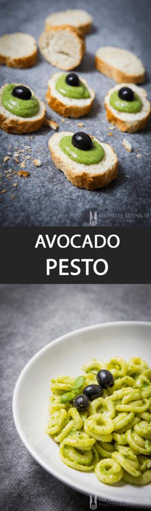 Pin Avocado Pesto