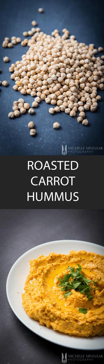 Hummus Carrot Roasted