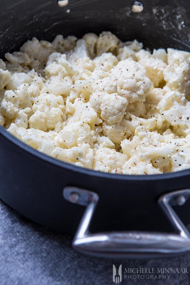 Cauliflower Creamed