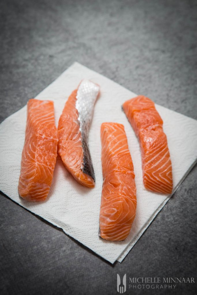 Salmon Fillets Fresh