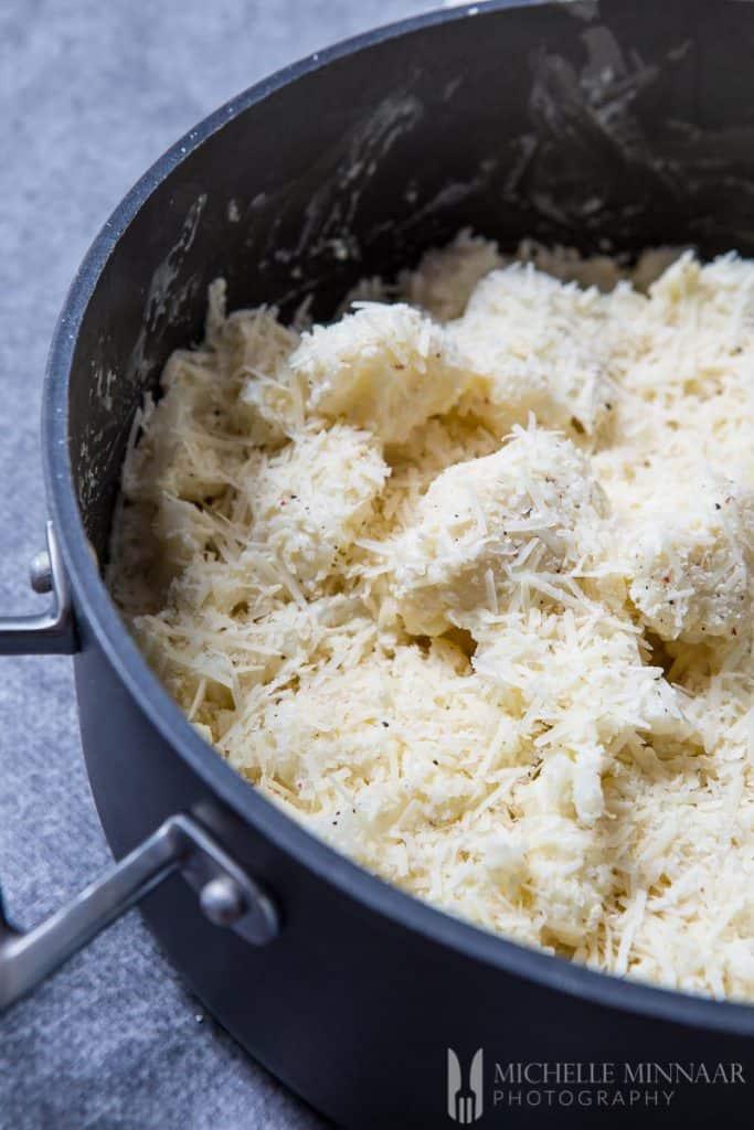 Cauliflower Grated