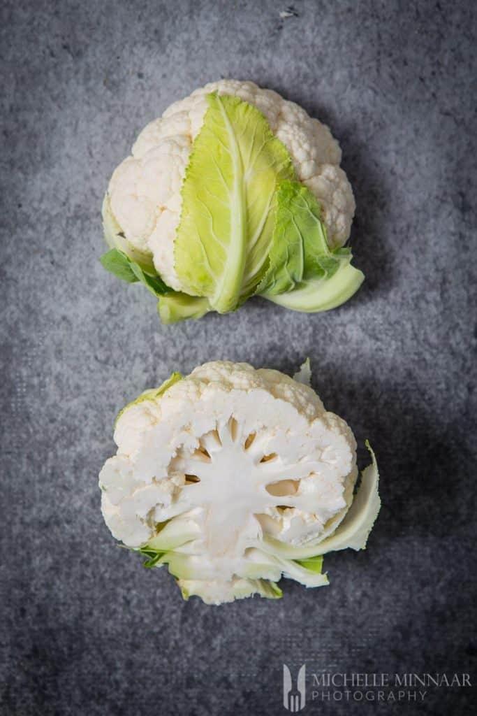 Cauliflower Halved Raw