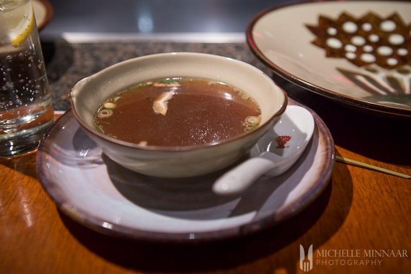 Light soup starter