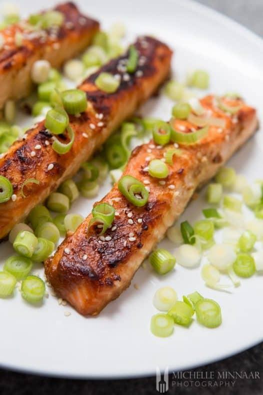 Salmon Miso Glazed