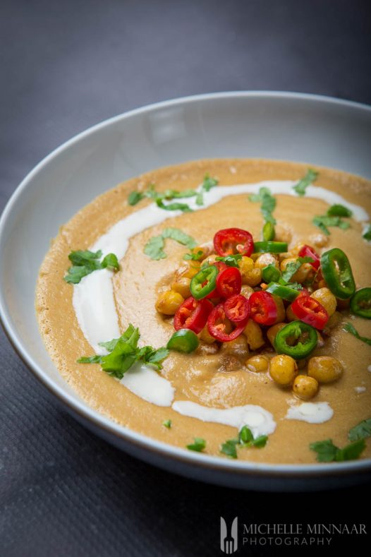 Chick Pea Soup Spicy
