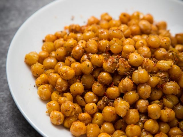 Roast Chickpeas Spicy