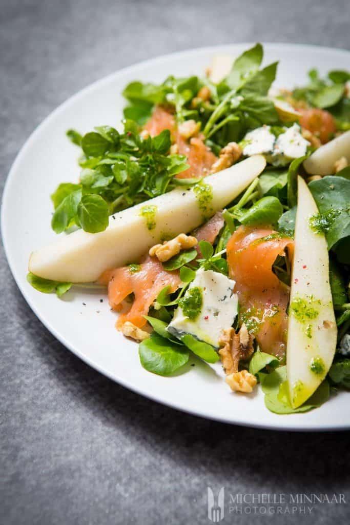 Dressing Watercress Salad