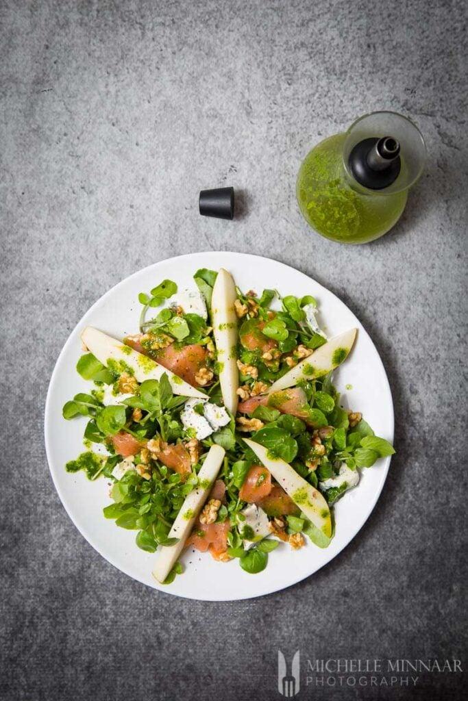 Smoked Salmon Salad Watercress
