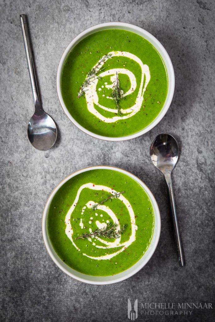 Thyme Soup Watercress