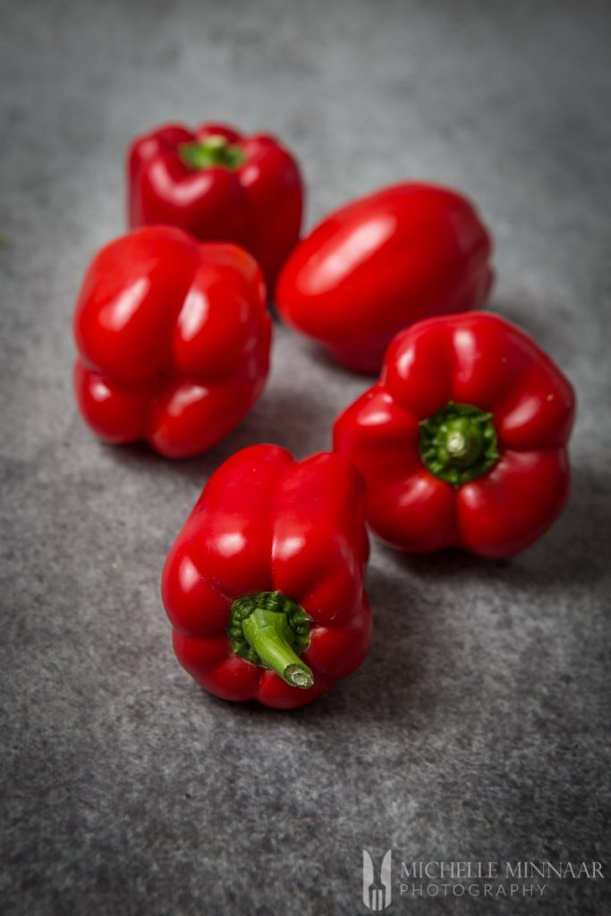 Red Peppers Whole