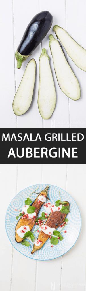 Grilled Aubergine Masala