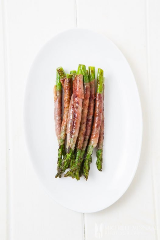 Wrapped In Parma Ham Asparagus