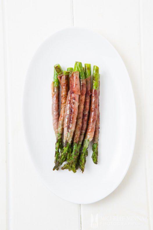Wrapped In Parma Ham Asparagus