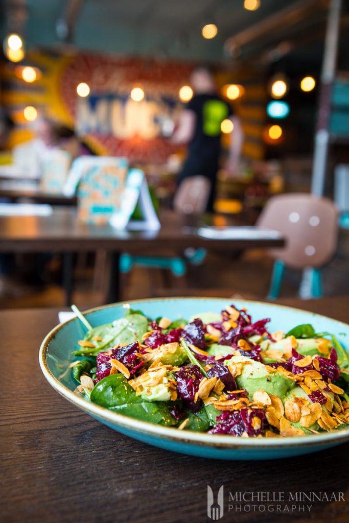 Vegan Salad at Las Iguanas