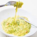 Creamy Curried Courgette Noodles