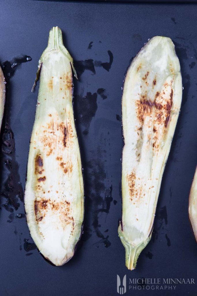 Aubergine Slices Grilled