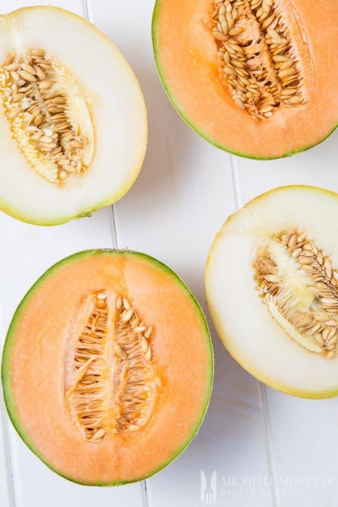 Melon Canteolupe Galia
