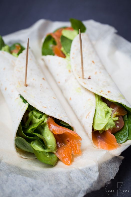 Wrap Avo Smoked Salmon