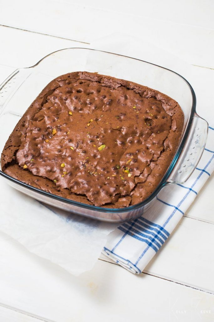 Chocolate Brownie Baked