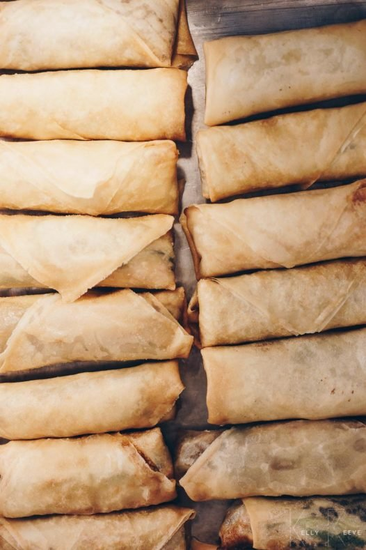 Spring Rolls Cooked